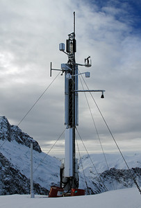 Mt Belle Automatic Weather Station (AWS) at a height of 1600 metres amsl.