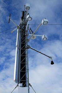 Instruments on Mount Belle Automatic Weather Station