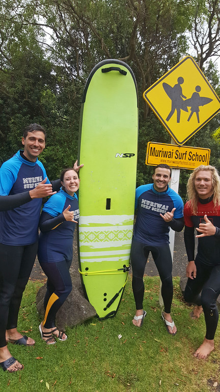 Fun and Exciting Surf Lessons in Auckland with Muriwai Surf School