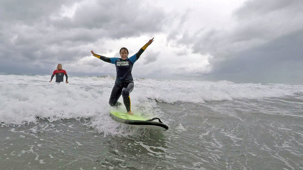 LASIK eye surgery: No contact lenses needed, great for water sports like surfing!
