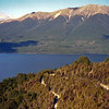 Lake Rotoiti from Mt.Roberts lookout.