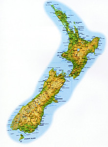 0997 - map of new zealand