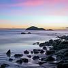Bare Island Sunrise Waimarama Beach