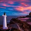 Castle Point Lighthouse Sunset