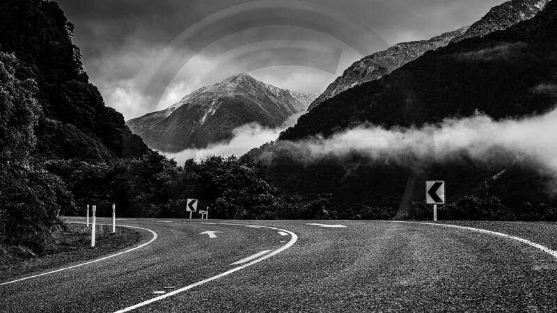 Westland Road Black & White