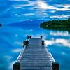 The Landing - Lake Tarawera (with boat)
