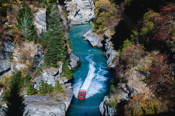 Shotover River and Jet Boat