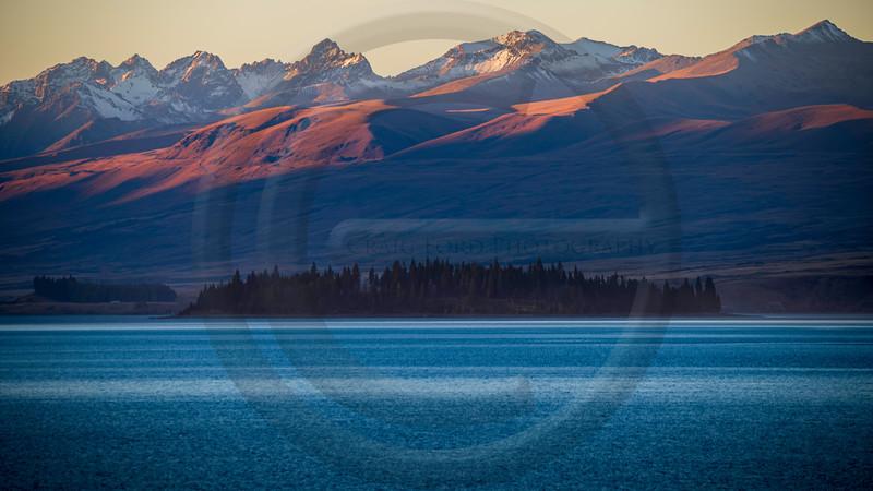 Lake Tekapo Last Light