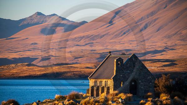 Church of the Good Shepherd Sunset
