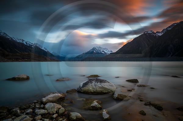Tasman Glacier Sunrise