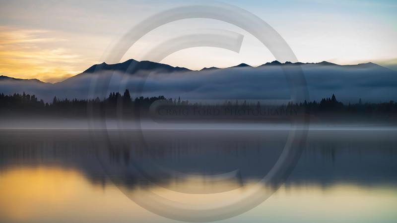 Lake Tekapo Sunrise Mist