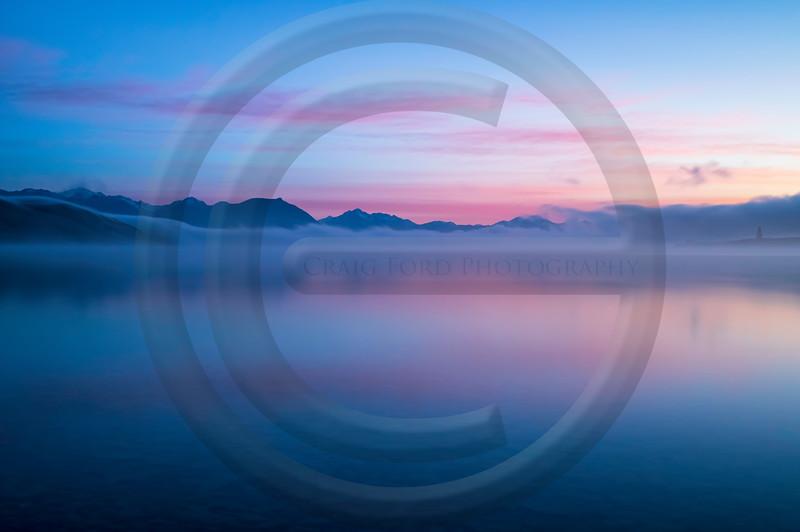 Lake Tekapo Dawn Mist