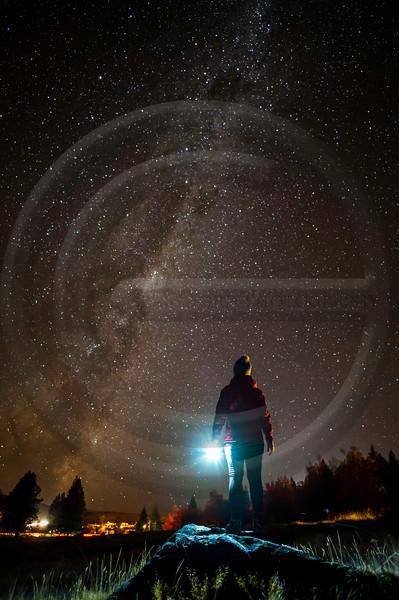 Milky Way Gaze Tekapo