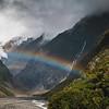 Franz Josef Glacier Rainbow