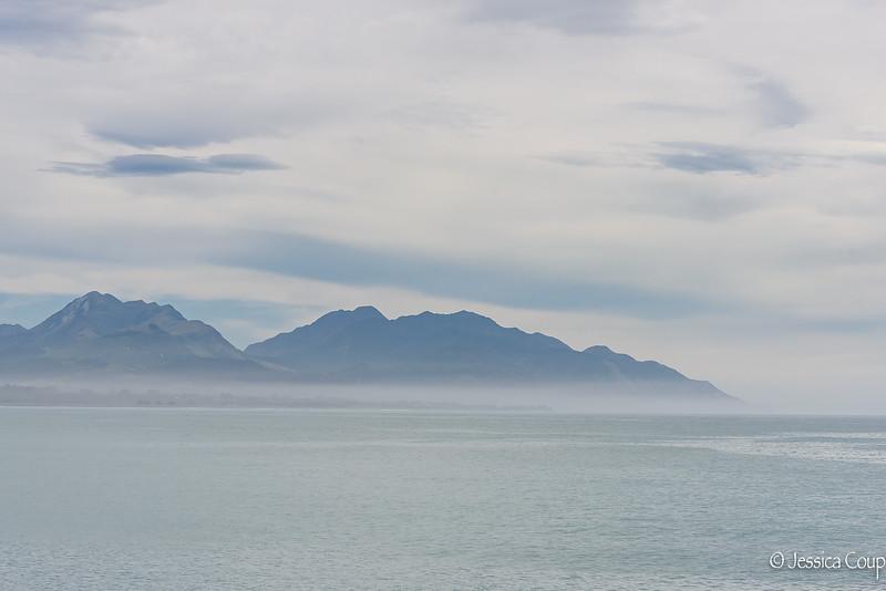 Sea at Kaikoura