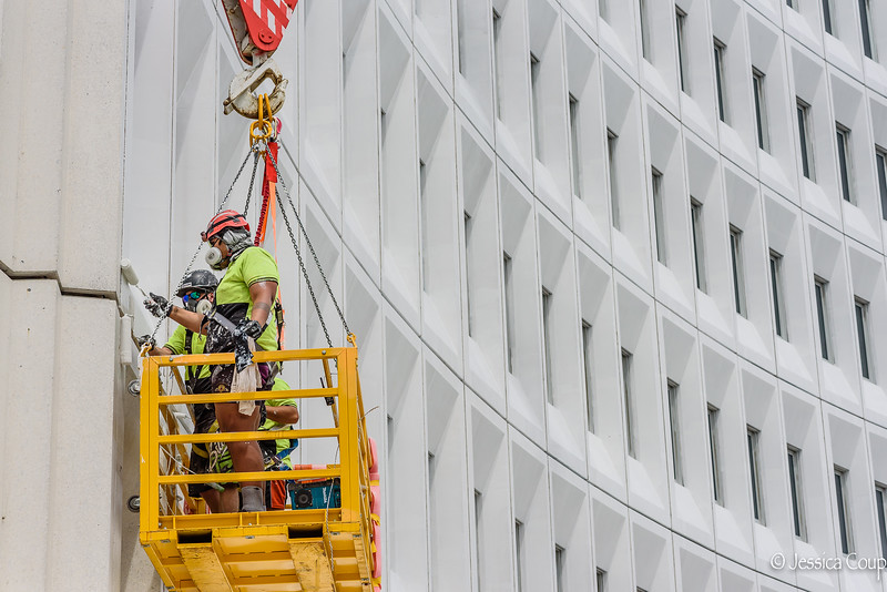 Painting the Office Building