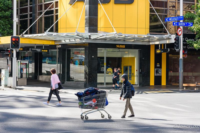 Pushing Away the Shopping Cart
