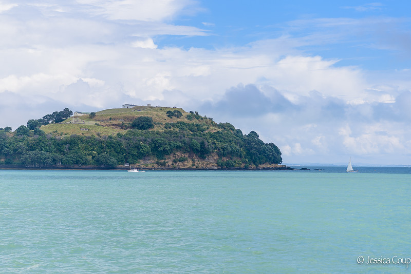 Boat Ride Over to Waiheke Island