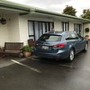 2018-02-21 - 01 Mazda 626 at motel in Invercargill