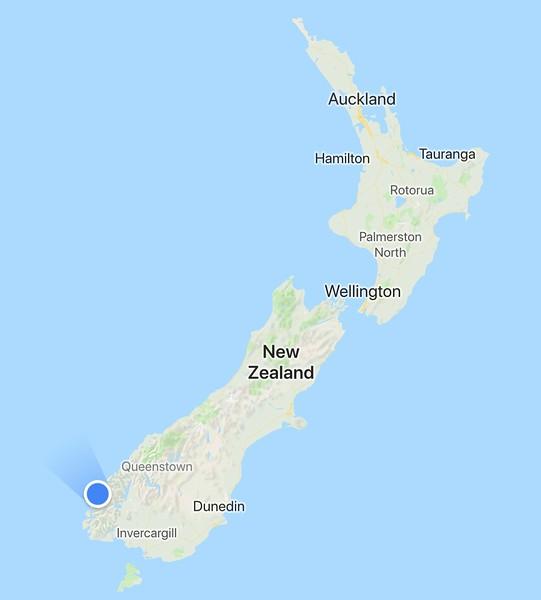 2018-02-24 - 01 Doubtful Sound location