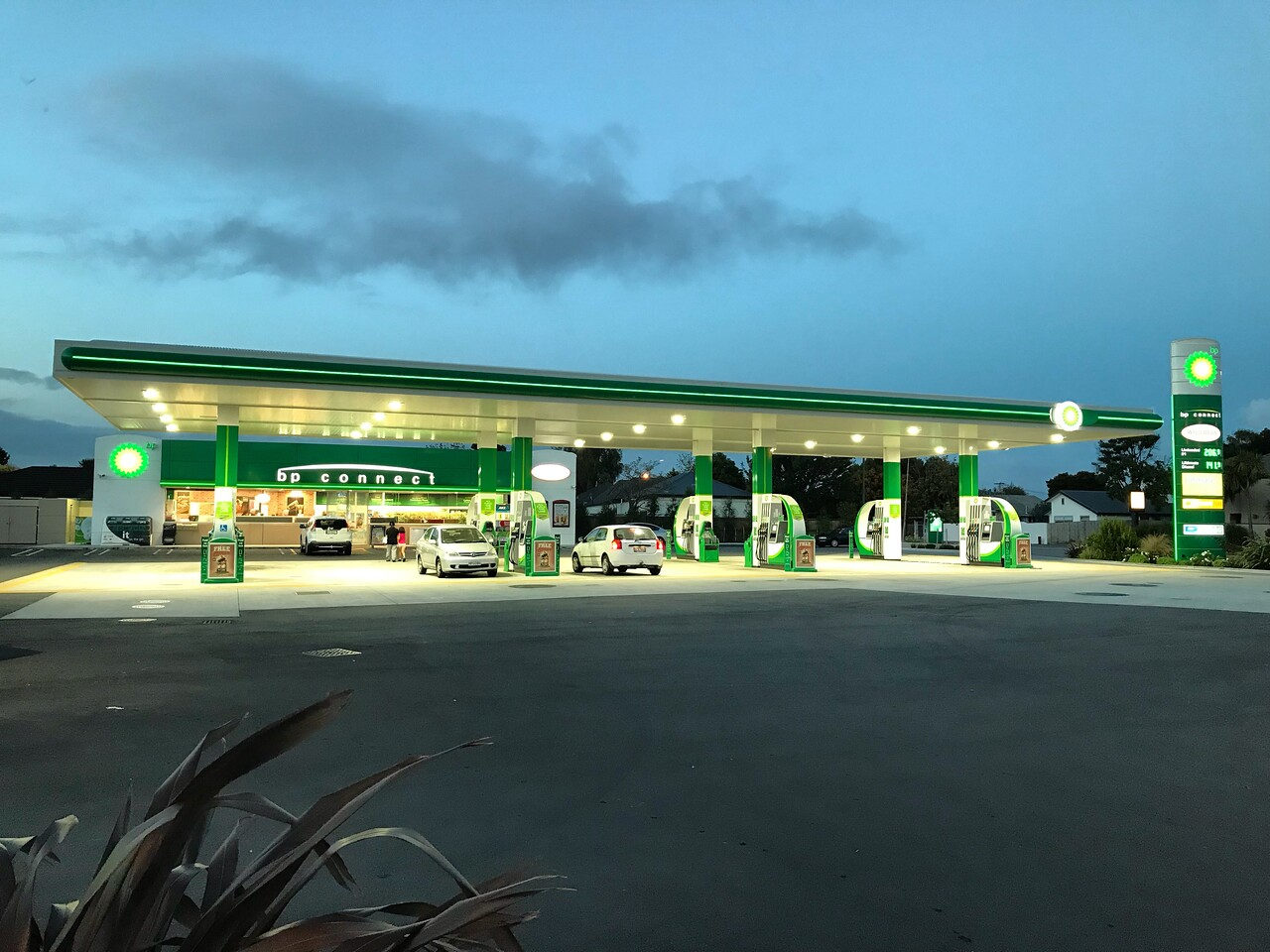 2018-03-05 - 36 BP petrol station in Chirstchurch NZ