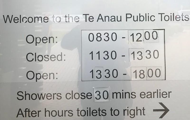 2018-02-24 - Te Anau, NZ Public Toilets 01