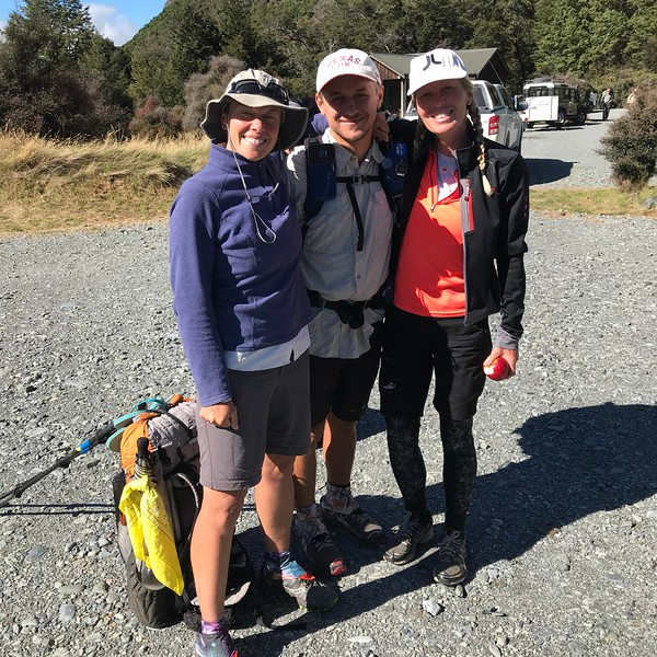 2018-02-26 - 02 Backpackers taken from Kinloch NZ to Gemstone trailhead