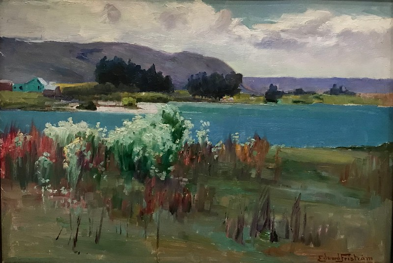 2018-03-06 - 33 Christchurch NZ art museum Lake Wakatipu