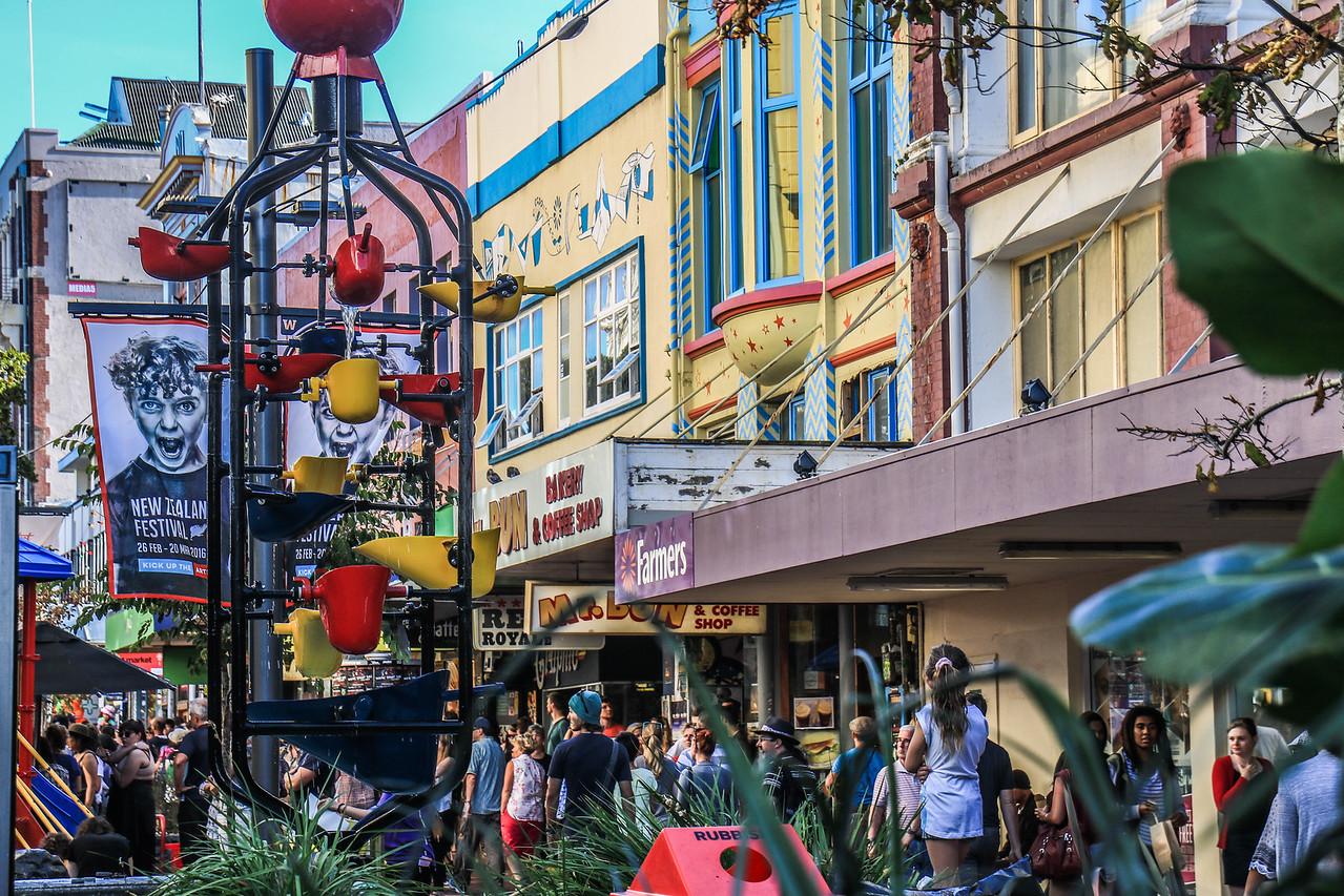 Cuba Street - End of Summer Festival