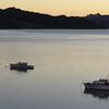 Sunrise over the Hokianga Harbour.