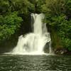 Kawauariki Falls on the Ongarue Stream, just a short walk from Blackfern Lodge 2011