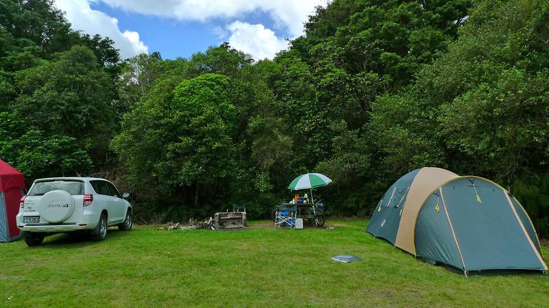 Camp site in 2011
