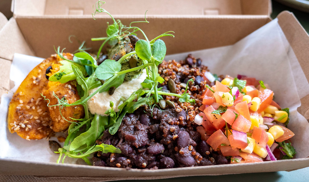 Queenstown Vegan Restaurants: Bespoke Kitchen Bean Bowl