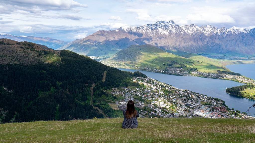 Things to Do in Queenstown: From the top of the Skyline Queenstown Gondola