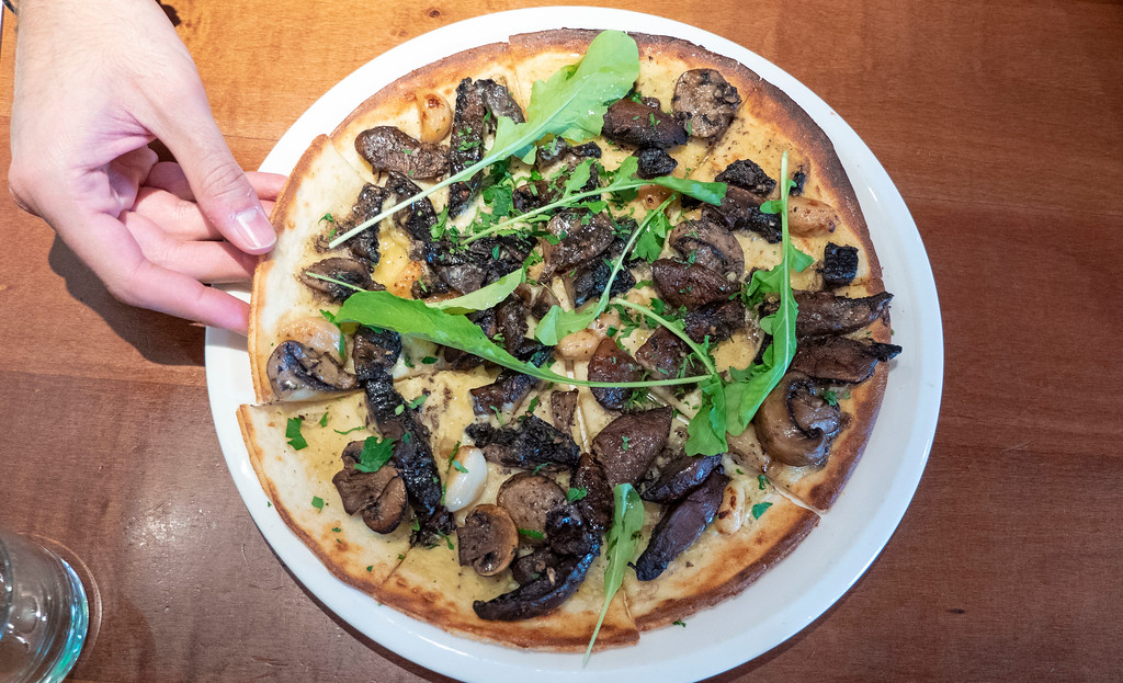 Things to Do in Queenstown: Farelli's Trattoria vegan pizza
