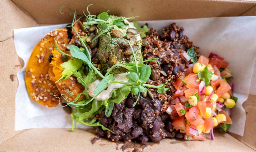 Queenstown Vegan Restaurants: Bespoke Kitchen Bean Bowl