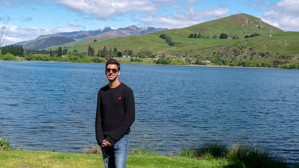 Day Trips From Queenstown: Justin at Lake Hayes