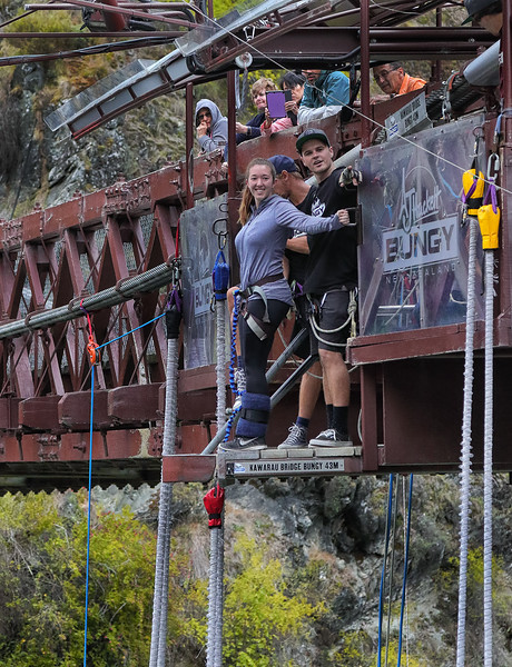 Kawarau Bridge Bungy Jump
