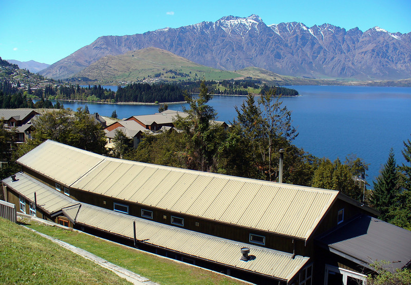 Queenstown Lodge where we stayed - Ours was left end unit