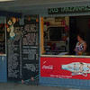 The fish and chip shop over the footbridge near Te Kopua Beach.