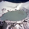 Ruapehu crater lake. We did a sight seeing flight.