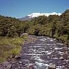 Mt. Ruapehu and stream.