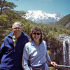 Russell and Robyn at the Mangawhero Falls.