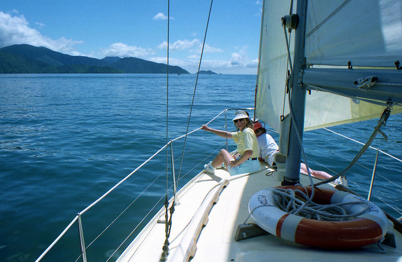 Sailing trip, Marlborough Sounds