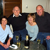 Robyn, Russell, Suzanne and John enjoying bubbly at the Hermitage for Robyns 50th birthday.