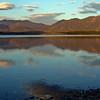Lake Tekapo in the evening.