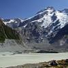 Mueller Glacier and Mt.Sefton