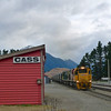 Cass railway station near Arthurs Pass