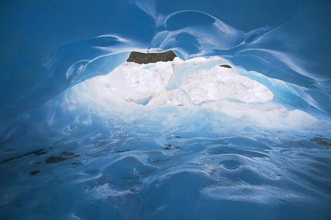 Ice Cave on Fox Glacier
