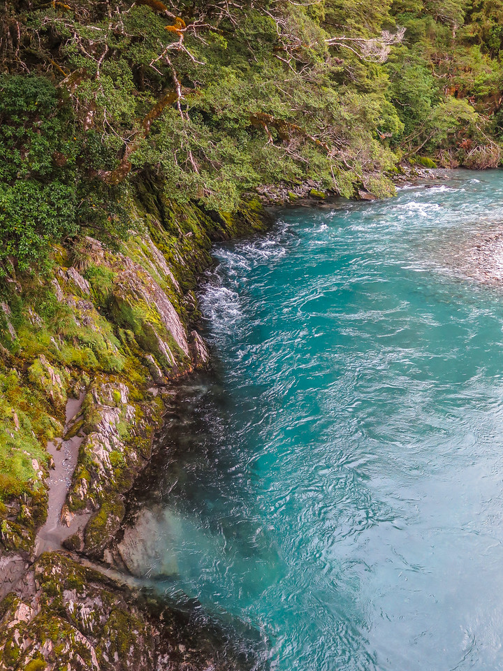 """""""The Blue Pools"""" on the Makarora River"""